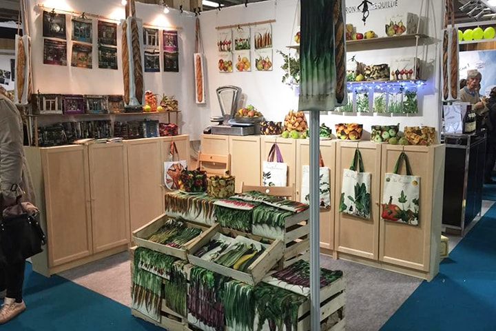 The Maron Bouillie booth at the MIF expo 2018