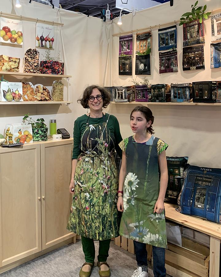 MIF expo 2019 - stand Maron Bouillie avec Marie et Lola