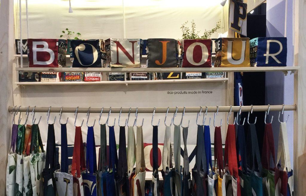 alphabet collection at Maron Bouillie stand Maison & Objet J20
