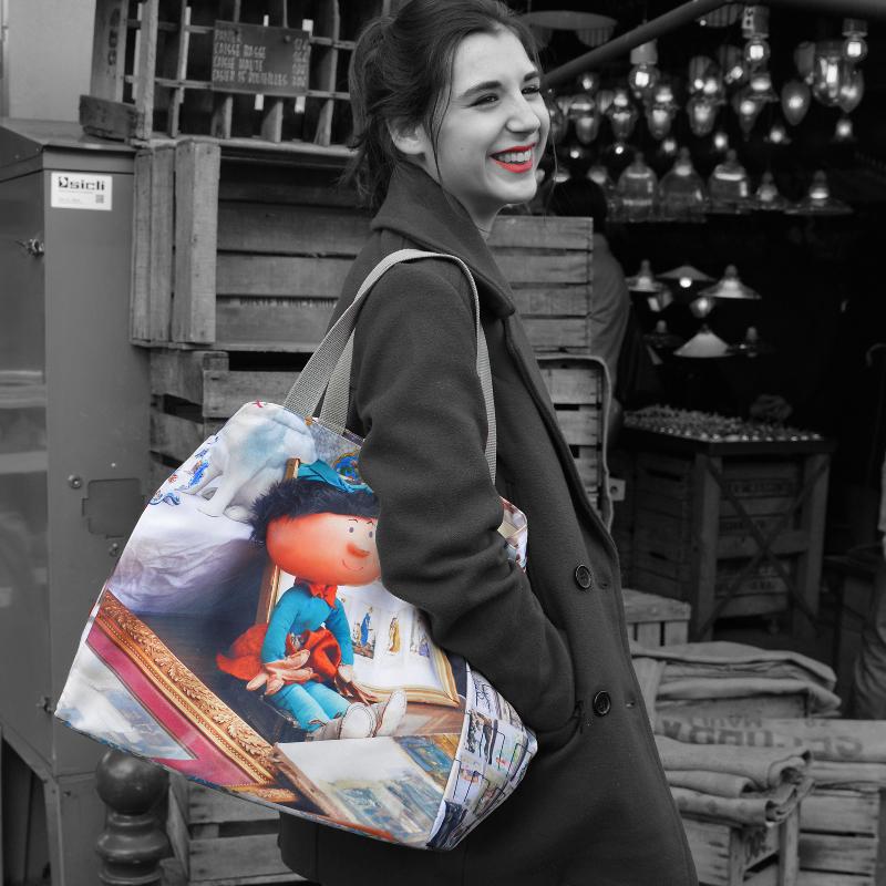 Maron Bouillie Collection Brocante - Clara Sacs cabas