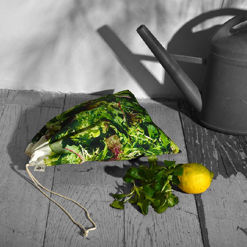 Maron Bouillie Sacs à vrac - sacs à salade - zéro déchet