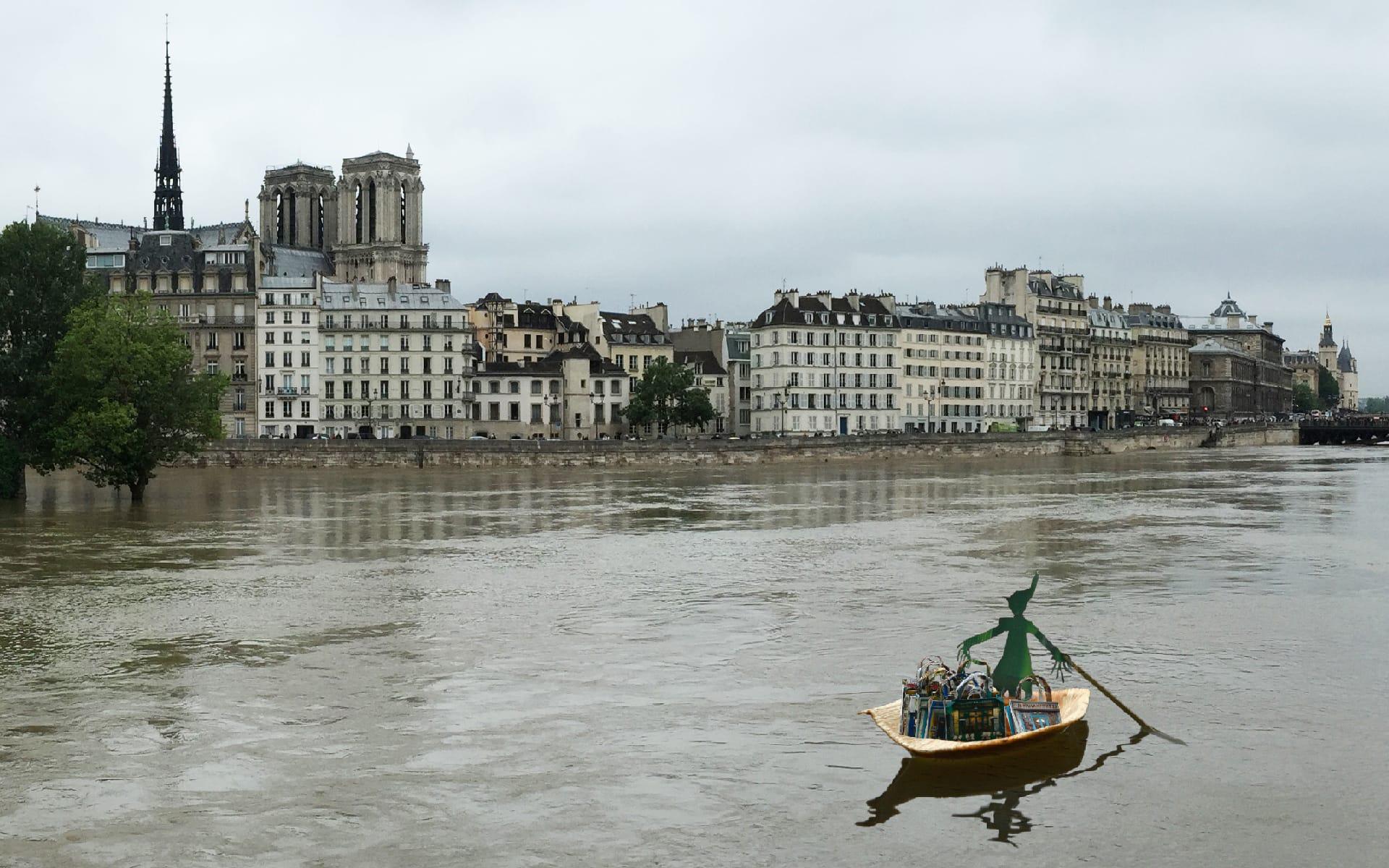 Maron Bouillie Paris Seine crue