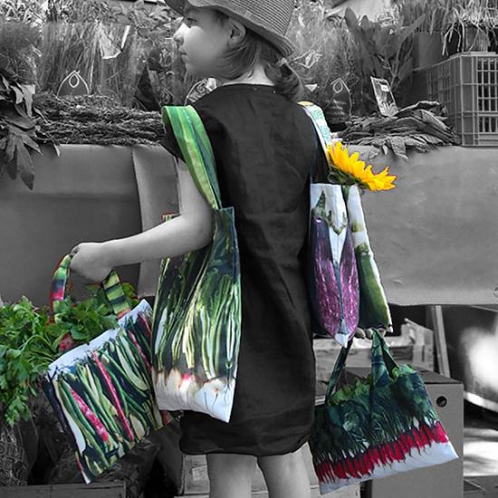 Maron Bouillie - sacs de courses écologiques made in France
